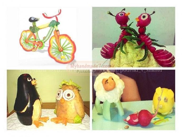 Поделки из овощей: идеи для совместного творчества с детьми