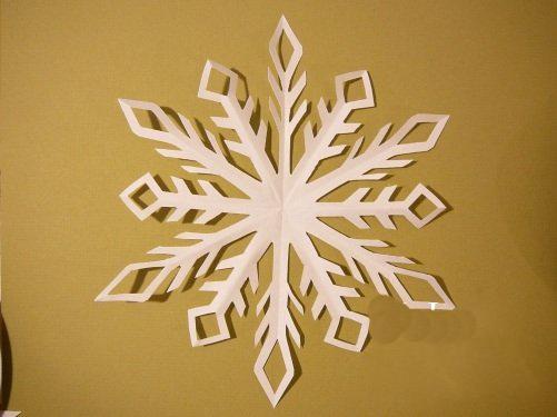 Снежинка с 6 лучами 7