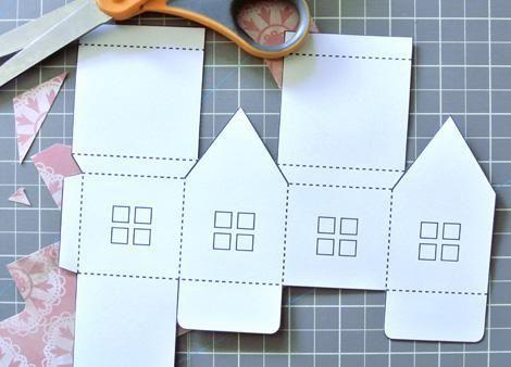 Бумажные деревеньки