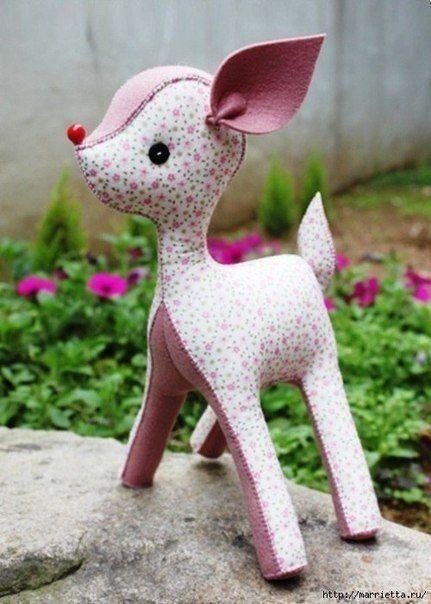 Мягкая игрушка - олененок 10