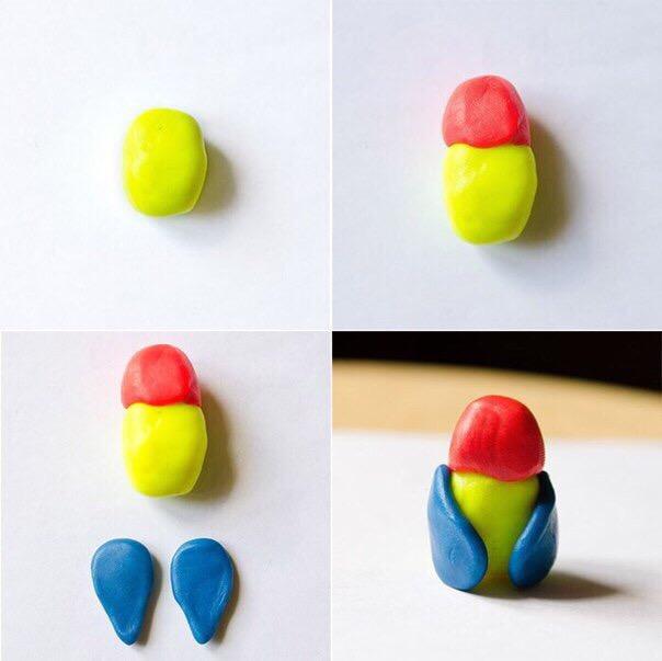 Мастер-класс по созданию красивых поделок из пластилина