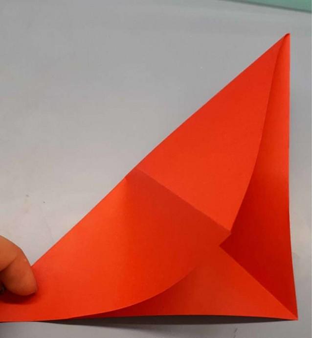 Чудесный цветок оригами 2