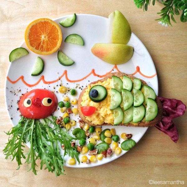 Крутые завтраки для детей, которые можно делать вместе
