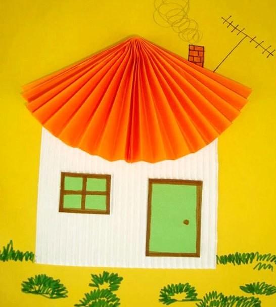 Идеи поделок из бумаги сложенной гармошкой