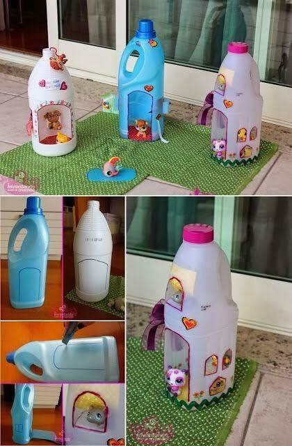 Игры с пластиковыми бутылками