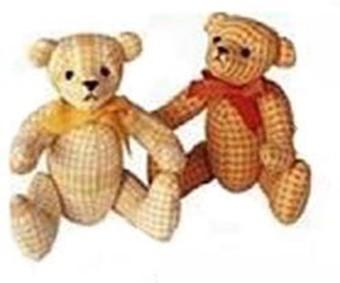 Шьем с детьми медвежат