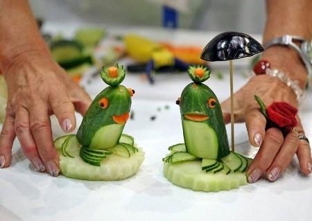 Идеи интересных поделок из овощей
