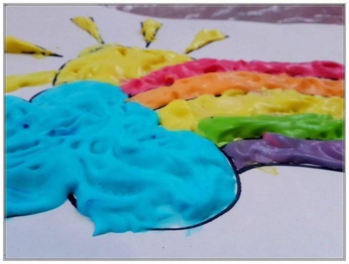 Объемные краски своими руками