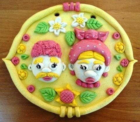 Солёное тесто для детской лепки
