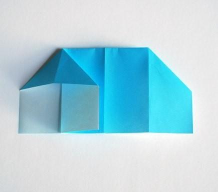 """Оригами """"Домик"""""""