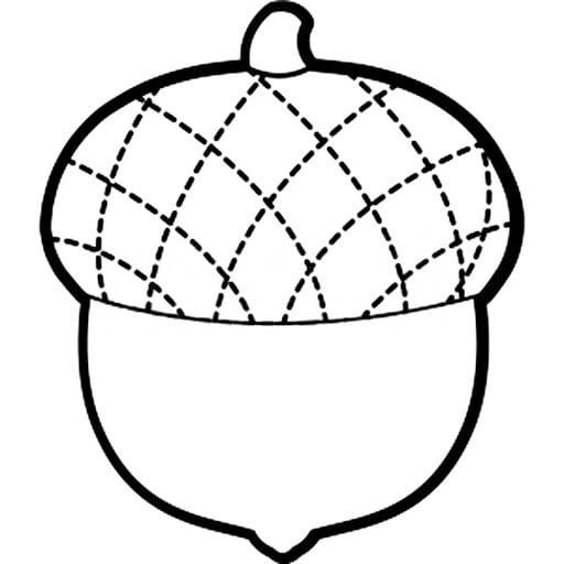 """Шаблоны для аппликации на тему """"Осень"""" для самых маленьких"""