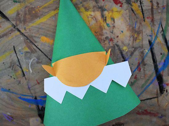 Лесной гном из цветной бумаги 3