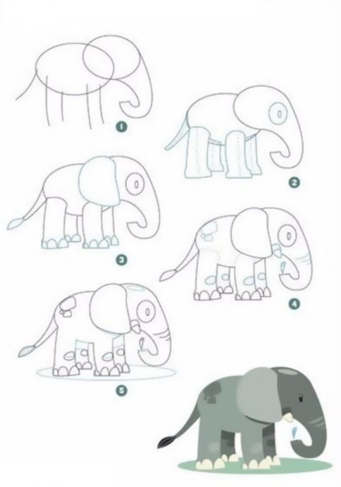 Первые рисунки с детьми