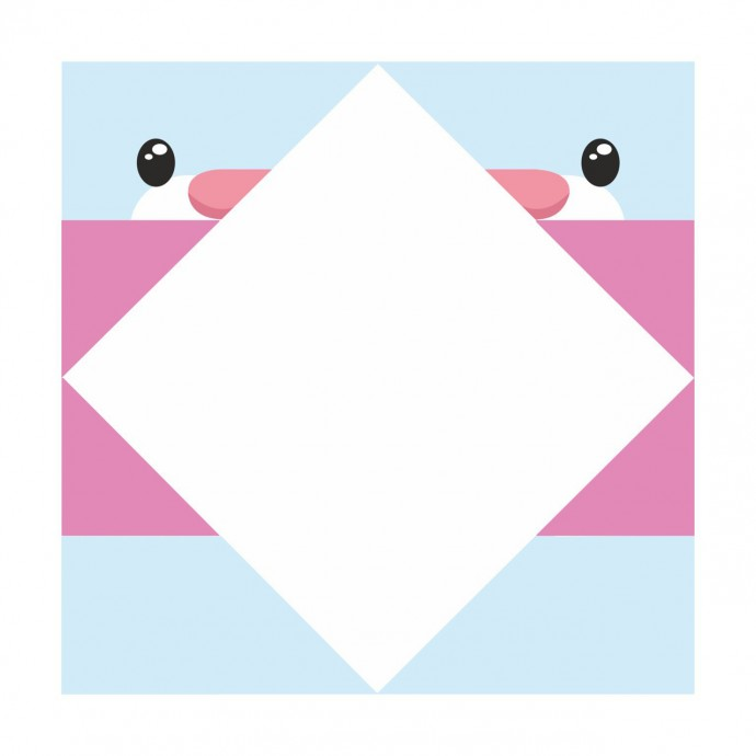 Кролики-оригами