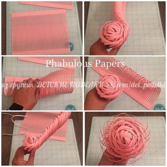 Идеи цветов из бумаги