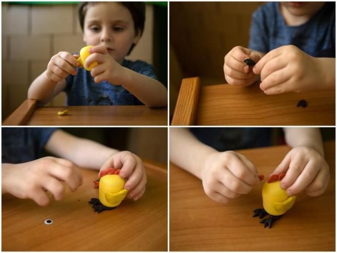 Поделки с детьми из киндер яиц
