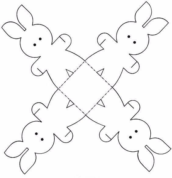 Создаём коробки-зайчиков: идеи для оформления детских подарков и шаблоны для их изготовления