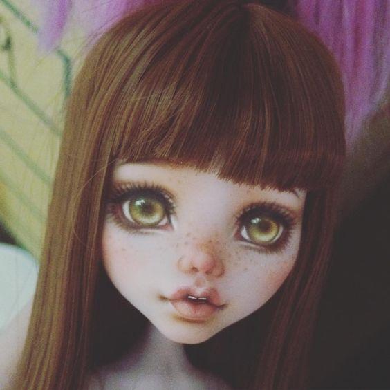 Рисуем личико кукле 0