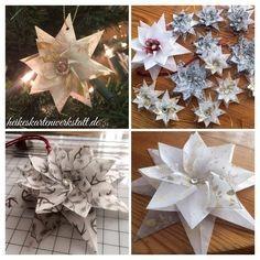 Создаем с детьми объемные бумажные звезды