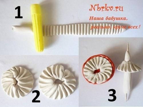 Самые разные грибочки из пластилина