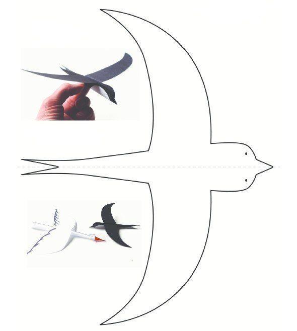 Шаблоны летающих птиц 2