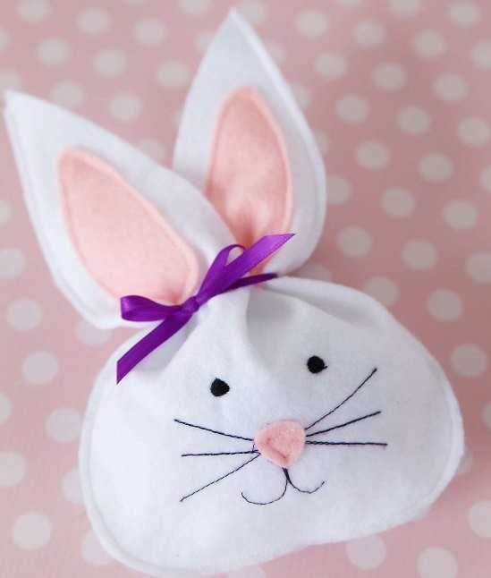 Прекрасный кролик из фетра