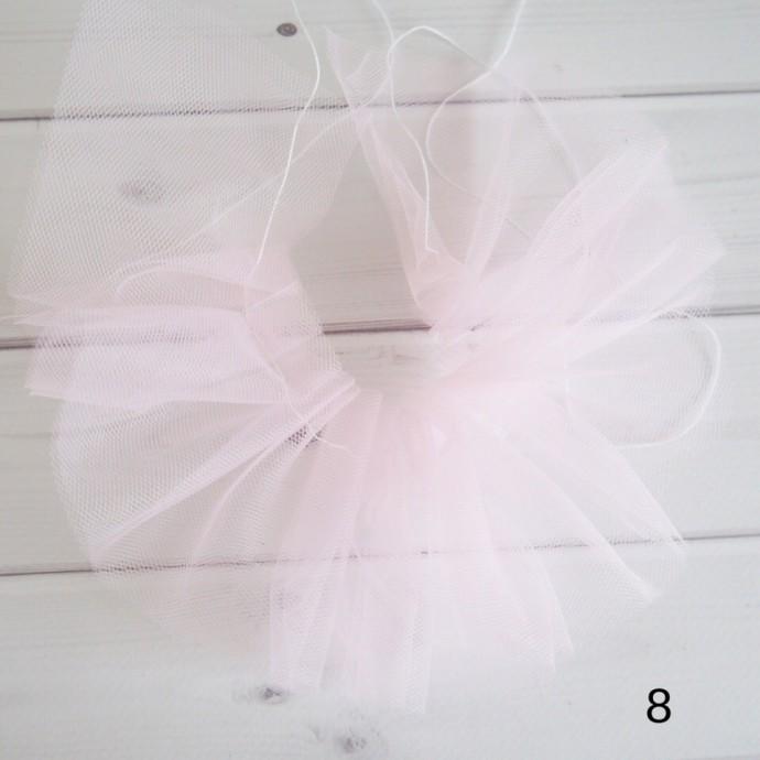 Платье с фатиновой юбкой для игрушек