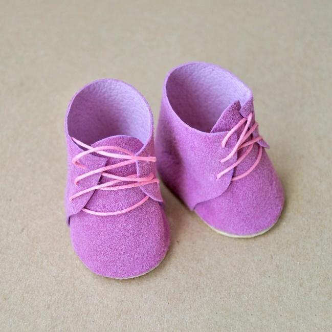 Ботиночки для кукол и игрушек 6