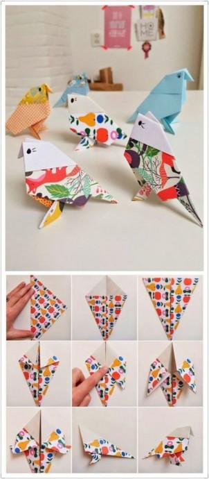 Искусство оригами с детьми 4
