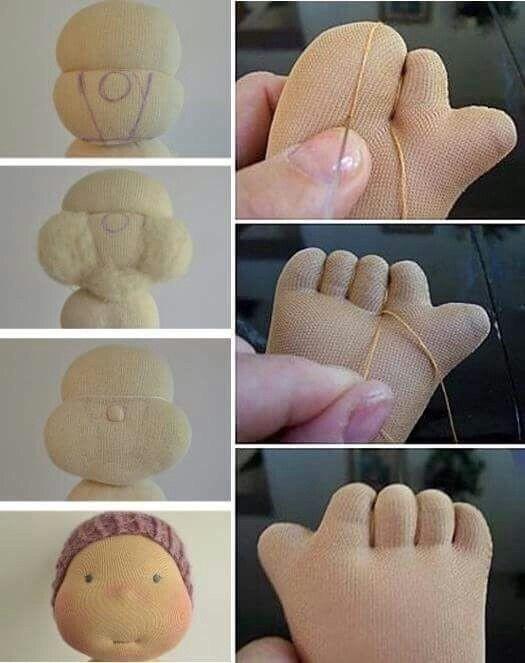 Текстильные куклы ручной работы