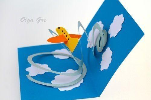 Самолётик в воздухе