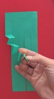 Объемная аппликация из цветной бумаги на морскую тему