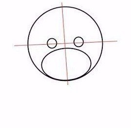 Как нарисовать медвежонка с сердечком 1