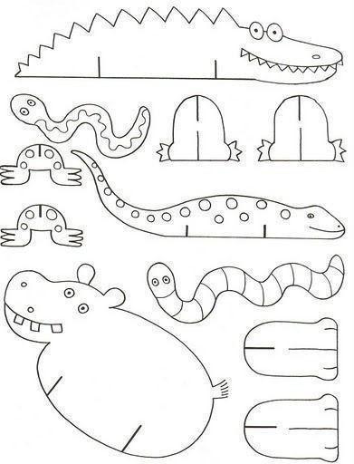 Объёмные животные