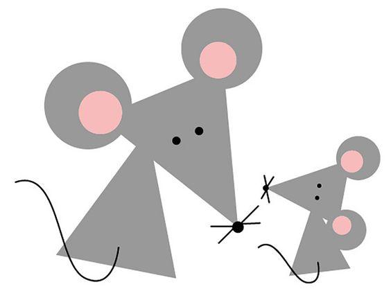 Геометрические аппликации из бумаги для малышей: идеи