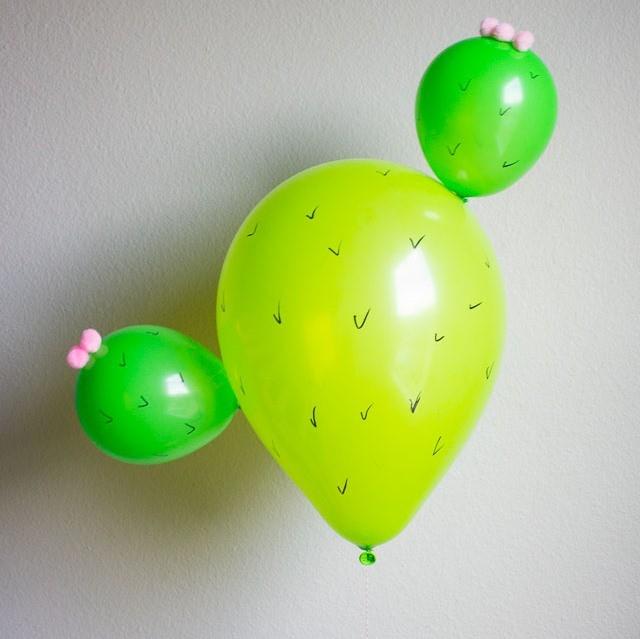 Оригинальные идеи для использования воздушных шариков в поделках