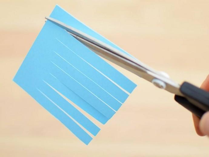 Осьминожек из бумаги