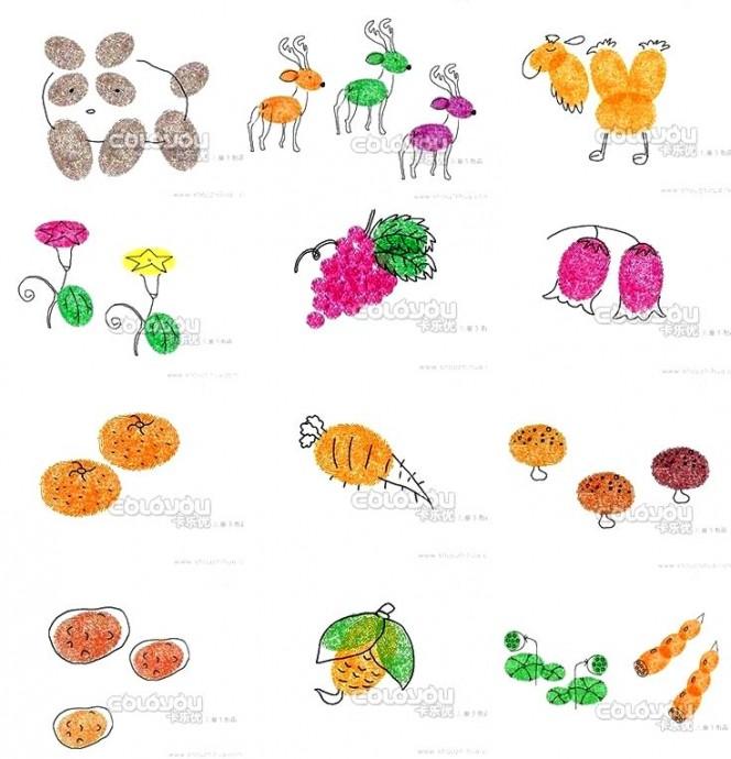 Рисуем пальчиками с детками