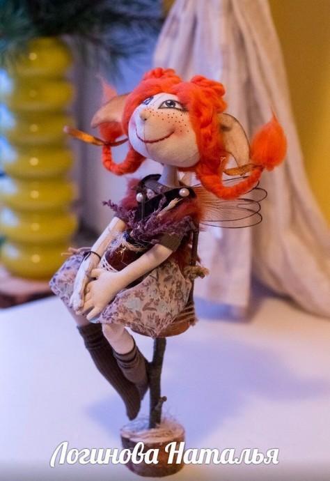 Текстильная куколка с выкройкой