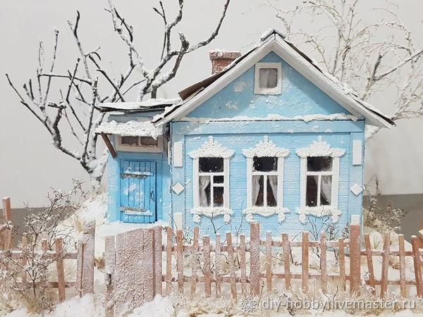 Мастерим деревенский домик для кукол