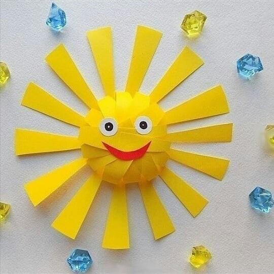 Объёмное солнышко
