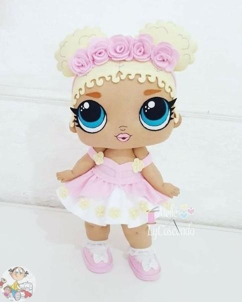 Куколка LΟL с выкройкой