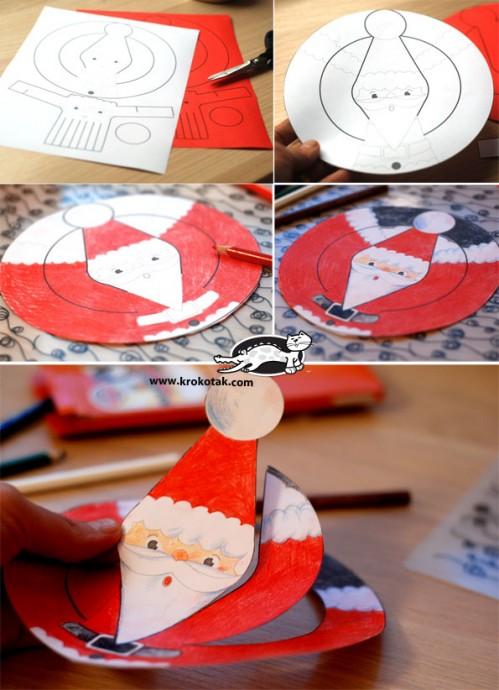 Дед Мороз: несколько простых вариантов