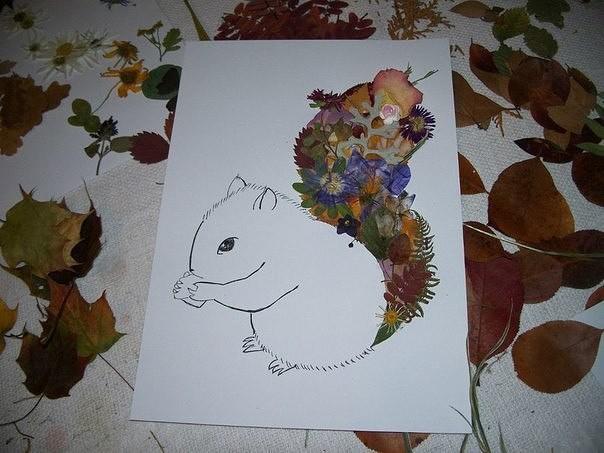 Креативные идеи для осенних композиций с детьми
