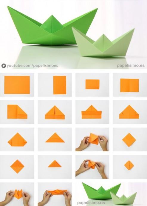 Искусство оригами с детьми 1