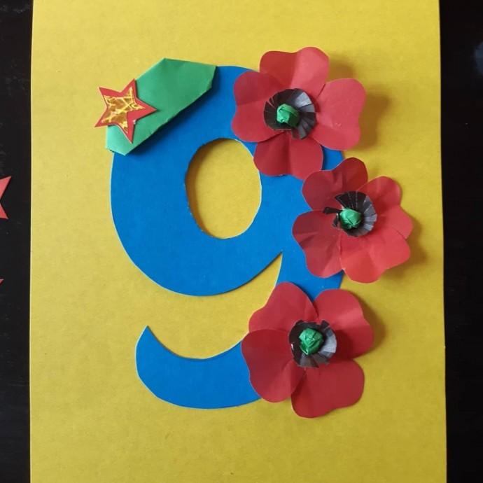 Торжественная открытка ко Дню Победы