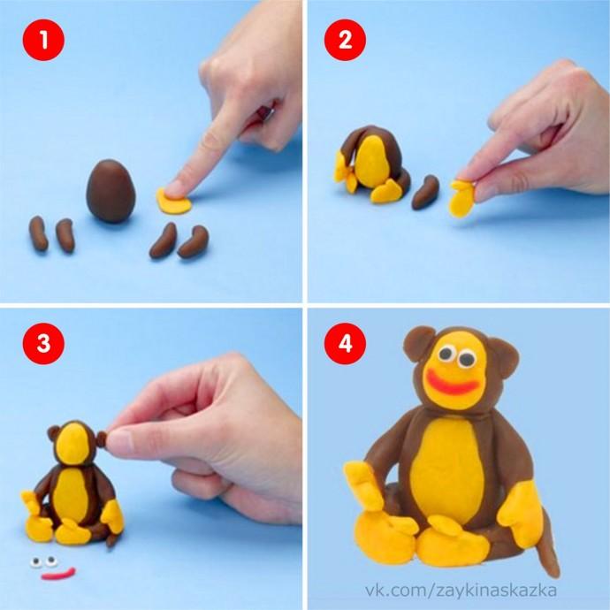 Уроки лепки из пластилина