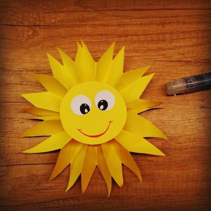 Картинки солнце своими руками