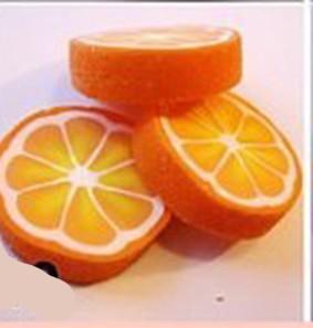 Апельсин из полимерной глины