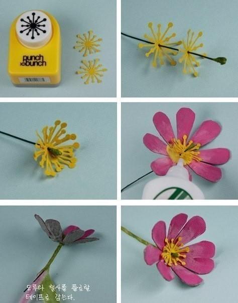 Цветы из упаковки для яиц: мастер-класс